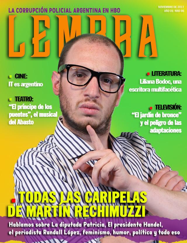 Lembra 06: Todas las caras de MartínRechimuzzi