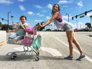 Bria Vinaite en Proyecto Florida